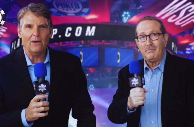 Lon McEachern and Norman Chad Return for the WSOP on CBS Sports Network